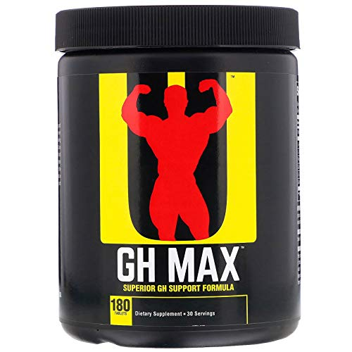 (Universal Nutrition GH Max Superior GH Support Formula 180 Tablets)