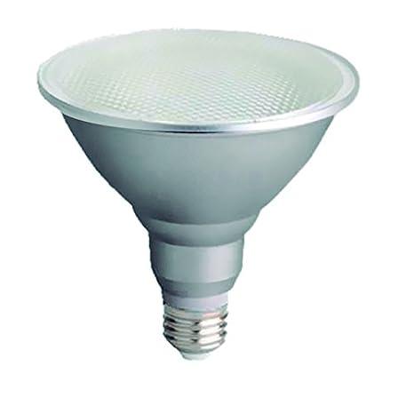 LightED PAR38 Bombilla LED 50K E27, 18 W, Plata, 122 x 126 mm: Amazon.es: Iluminación