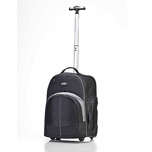 Targus Compact Rolling Backpack for 16-Inch Laptops, Black (TSB750US) by Targus (Image #2)