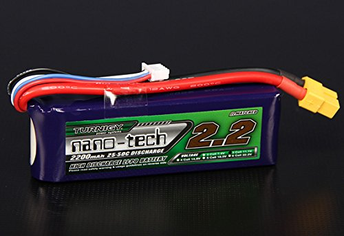 Turnigy nano-tech 2200mah 3S 25~50C Lipo Pack - 25c 50c Lipo Battery