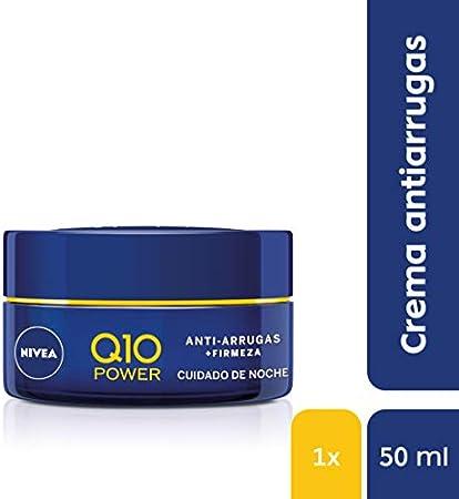 Nivea Q10 Power Crema Hidratante Antiarrugas, Cuidado de Noche, 50ml