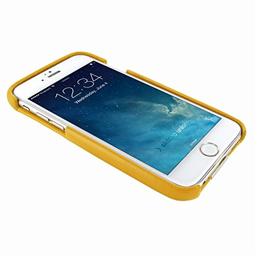 PIELFRAMA 693COY Case Crocodile Apple iPhone 6 Plus in gelb