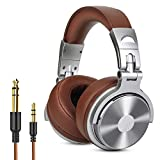 Over Ear Headphone, Wired Premium Stereo Sound Headsets with 50mm Driver, Foldable Comfortable...