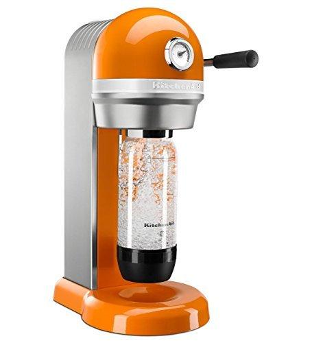 KitchenAid KSS1121TG Sparkling Beverage Maker, Tangerine