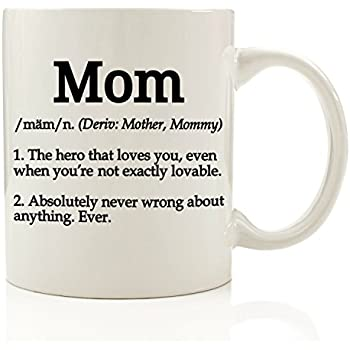 mom definition funny coffee mug 11 oz top christmas gifts for mom unique gift