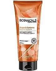 L'Oréal Paris Botanicals Cartamo Infusione di Nutrimento, Balsamo Districante per Capelli Secchi Senza Siliconi, Parabeni o Coloranti, 200 ml