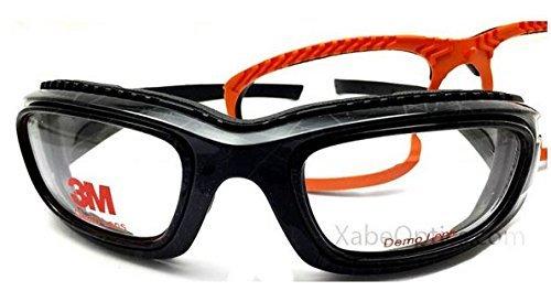 3M ZT45 Prescription Ready Safety Goggles - Black with Graffiti