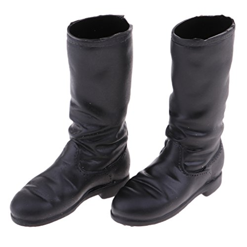 Phicen Doll Accessories Homyl 1 for High 6 Action 12'' Black Female Body Boots WWPSzn7