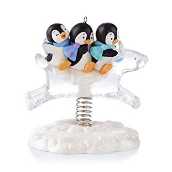 (Hallmark Keepsake Ornament Playful Penguins 2013)