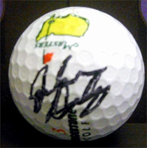 - John Daly autographed Masters golf ball (PGA Championship 1991 Open 1995 SC) with free display cube