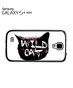 Wild Cat Kitten Meow Roar Mobile Cell Phone Case Samsung Galaxy S4 Mini Black