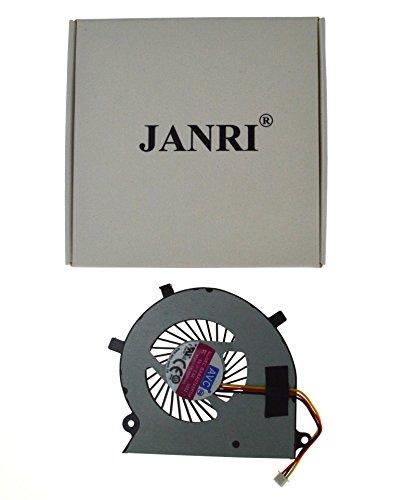 JANRI Replacement CPU Cooling Fan FOR Toshiba Satellite Radius P55W-B P55W-B5112 P55W-B5162SM P55W-B5181SM P55W-B5201SL P55W-B5220 P55W-B5224 P55W-B5260SM P55W-B5318 P55W-B5380SM BAAA0705R5H -  JANRI®
