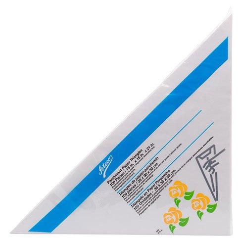 Ateco Large Parchment Triangles 18
