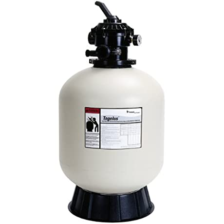Pentair SD35 Sand Dollar Top Mount Pool And Spa Sand Filter With Multiport Valve 35 GPM Almond