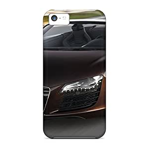 Defender Case With Nice Appearance (audi R8 Spyder 42 Fsi Quattro 2011) For Iphone 5c