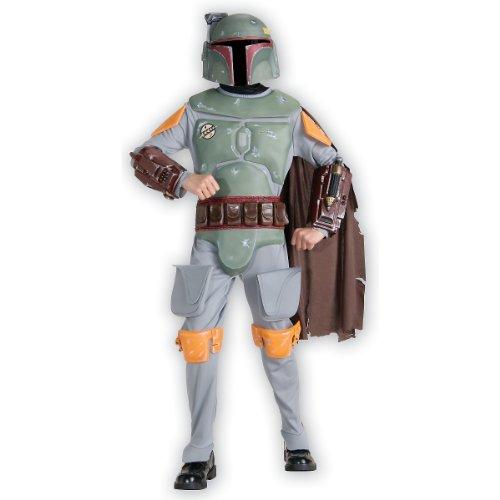 Deluxe Boba Fett Costume - (Star Wars Deluxe Boba Fett Kids Costumes)