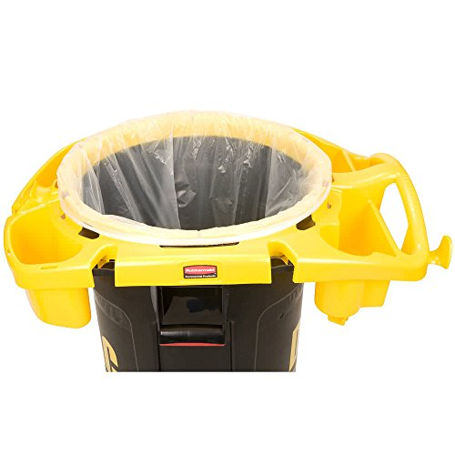 TableTop king FG9VDVRC4400 Deluxe Rim Caddy for 44 Gallon Brute Container by TableTop King (Image #1)