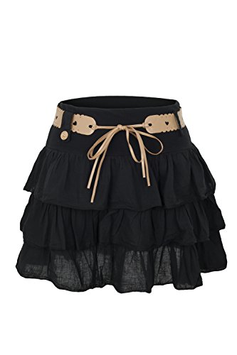 Volantes Minifalda Ao Con Negras Outlet Ropa PIUAC1wqC