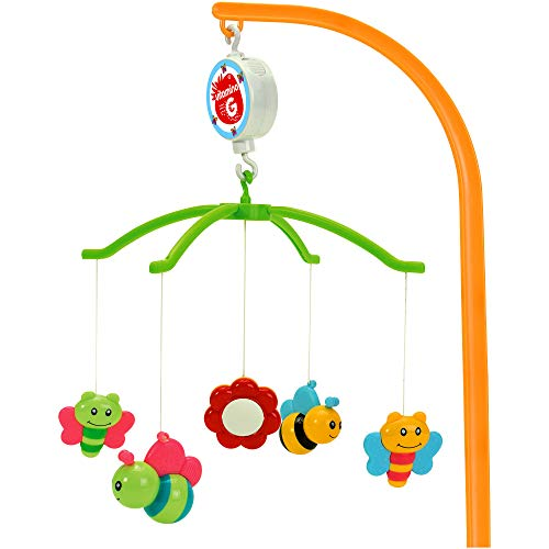 Globo Toys Globo - 5139 1 Assorted Vitamina_G Carousel Musical Toy with Plastic Subjects