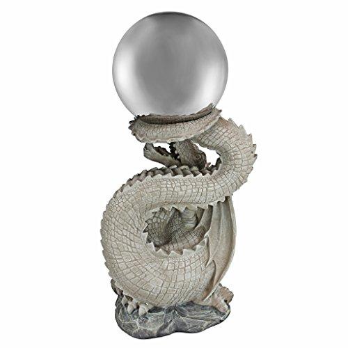 Design Toscano Sir Sagremor's Dragon Sculpture with Glass Gazing Orb by Design Toscano (Image #2)