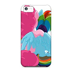Durable Protector Case Cover With Sunrise Hugs Hot Design For Iphone 5c