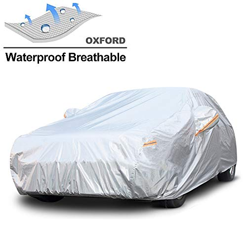 GUNHYI Waterproof Car Cover for Automobile Outdoor