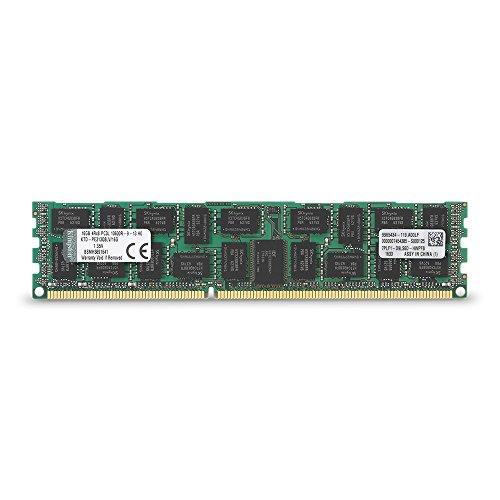 Kingston 16GB 1333MHz DDR3 PC3-10666 Reg ECC Quad Rank X8 Low Voltage Memory for Select Dell Servers -
