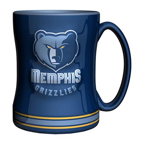 NBA Memphis Grizzlies Sculpted Relief Mug, - Memphis Outlets