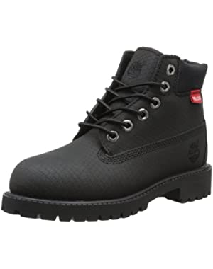 Men's Premium Scuff Proof Waterproof Leather Boots - 6 inch