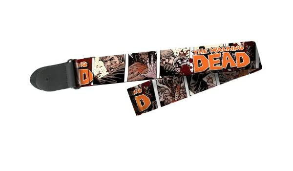 Walking Dead sobrevivientes correa para guitarra: Amazon.es ...