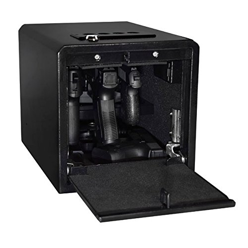 (Stealth Handgun Hanger Safe Quick Access Electronic Pistol Security Box)
