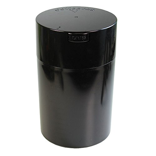 (Professional Series 1 lb Coffeevac V with Degassing Valve, Black)