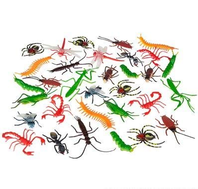 Rhode Island Novelty Assorted Realistic Insects/Bugs | 144 Pieces