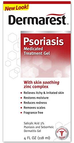 Dermarest traitement de la peau médicamenteux du psoriasis, 4 fl. onces, boîtes (pack de 6)
