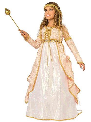 Rubie's Costume Kids Deluxe Shimmering Princess Costume, Medium ()
