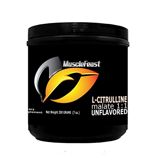 Pure Citrulline Malate 1:1 by Muscle Feast (200 grams)