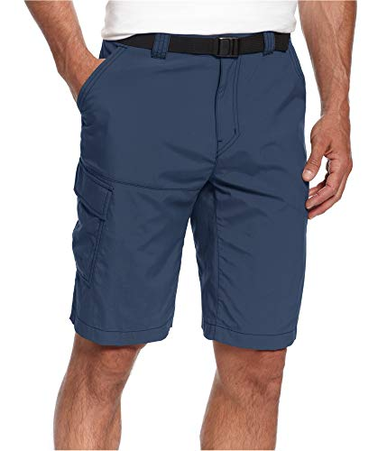Shorts Belted Columbia (Columbia Dark Mens Belted Button-Front Cargo Shorts)