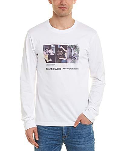 Helmut Lang Mens - Helmut Lang Mens T-Shirt, S, White