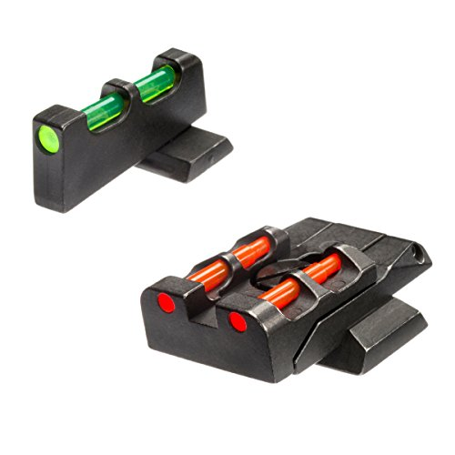 HIVIZ Sight Systems SWMPE21, Interchangeable Front & Rear Sight Set Smith & Wesson M&P ()