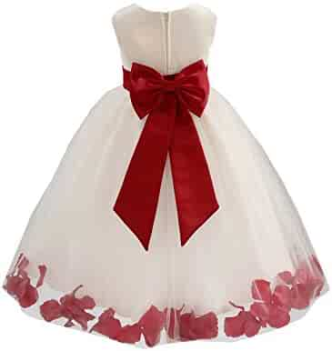 52b3f1d00 Shopping EkidsBridal - Clear or Reds - Dresses - Clothing - Girls ...