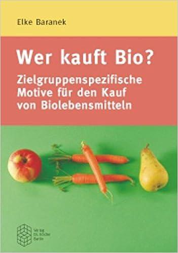 Book Wer kauft Bio?