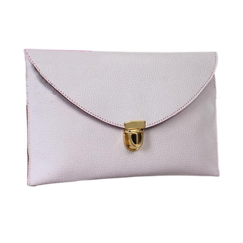 Clutch Purse Shoulder Bag Multicolors Handbag Women Evening Envelope lady Chain Tote Gaorui White 4vqatxn