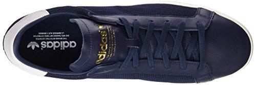 adidas Unisex-Erwachsene Court Vantage Trainer Low Blau (Co Navy / Co Navy / Ft White)