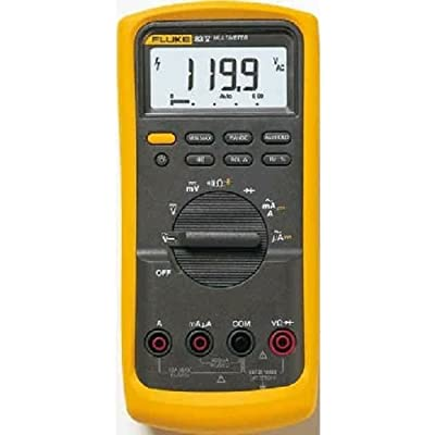 Fluke 83-5 Industrial Digital Multimeter with a NIST-Traceable Calibration Certificate with Data