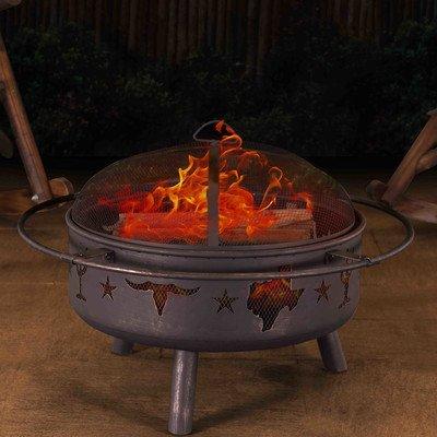Sunjoy  Jasper 32″ Steel Fire Pit Review
