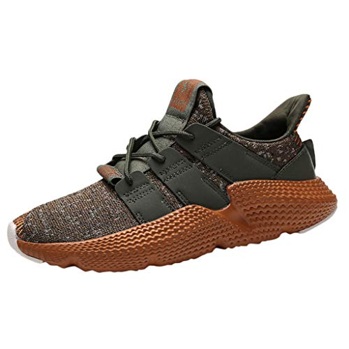(Men's Mesh Fashion Breathable Basketball Running Sport Athletic Shoes Sneakers)