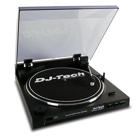 Tocadiscos USB-1 correa DJ Tech. Conexión USB: Amazon.es ...