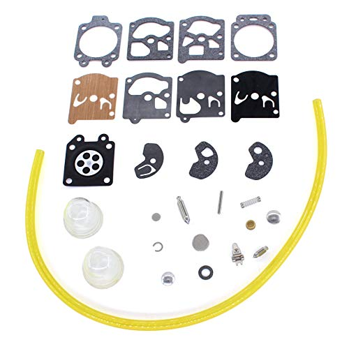 USPEEDA Carburetor Rebuild Diaphragm Gasket Kit for K10-WAT WA WT Series Echo Chainsaw 3100 401 EVL 452 VL CS281 CS281 EVL CS302 CS302S CS304