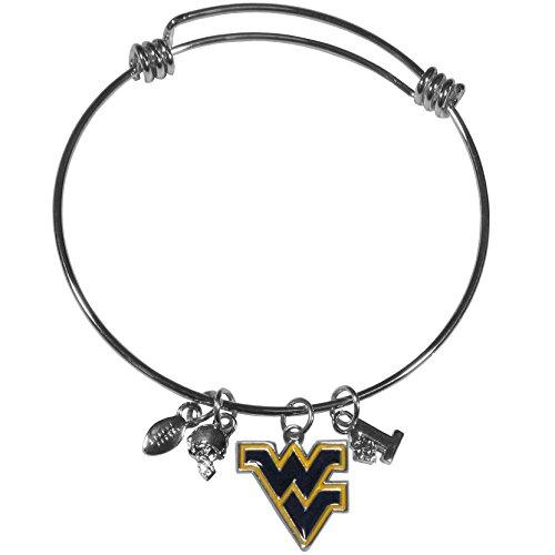Virginia Mountaineers Charm Bangle Bracelet