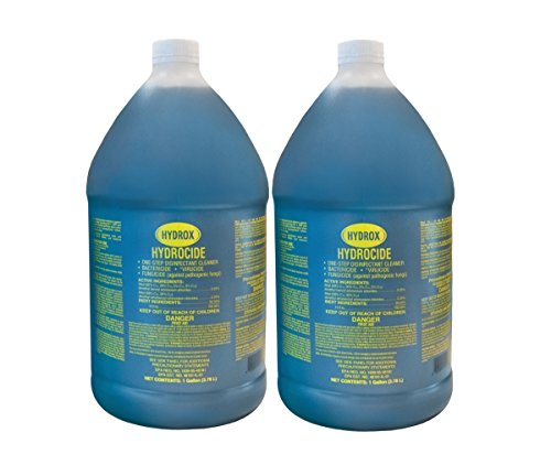 Hydrox Hydrocide One-Step Disinfectant Cleaner, Gallon (Pack of 2)